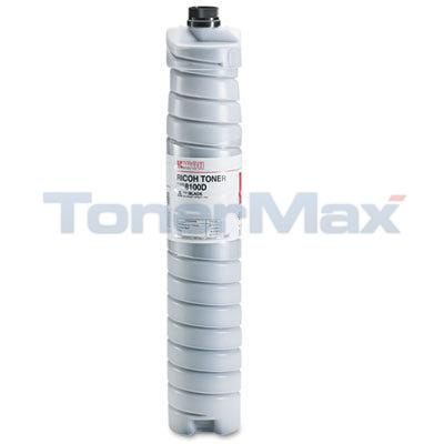 RICOH TYPE 8100D TONER BLACK